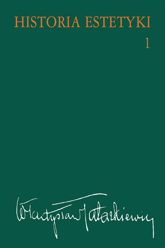 okładka Historia estetyki, t.1ebook | EPUB, MOBI | Władysław  Tatarkiewicz