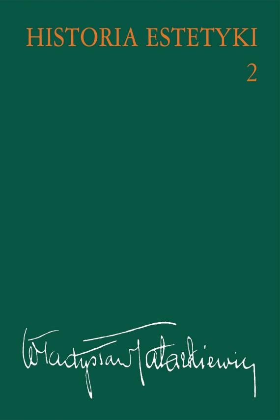 okładka Historia estetyki, t.2ebook | EPUB, MOBI | Władysław  Tatarkiewicz