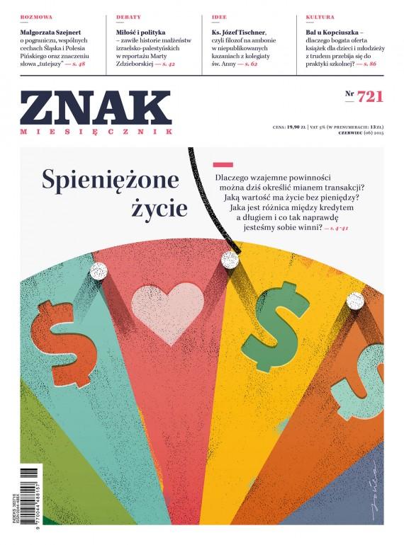 okładka ZNAK Miesięcznik nr 721 (6/2015). Ebook | EPUB, MOBI | autor  zbiorowy