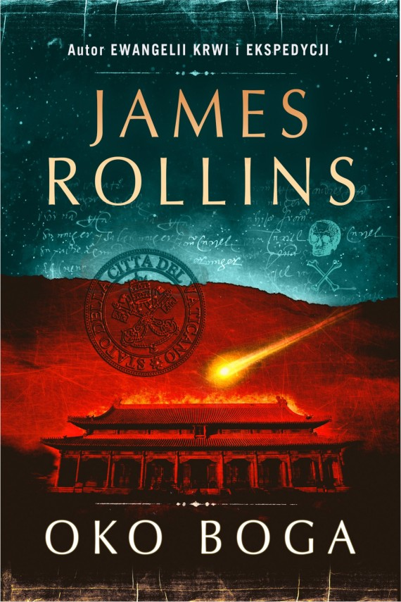 okładka Oko Boga. Ebook | EPUB, MOBI | James Rollins