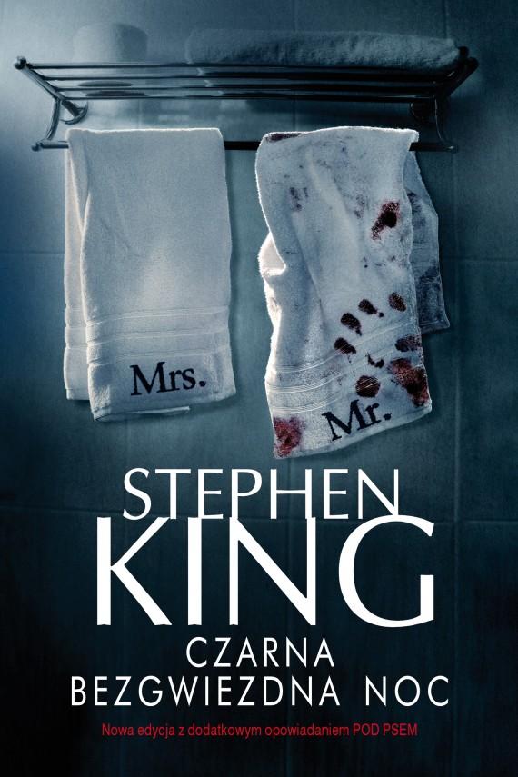okładka Czarna bezgwiezdna nocebook   EPUB, MOBI   Stephen King