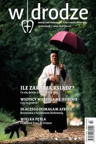 okładka Miesięcznik W drodze nr 7/2015. Ebook | EPUB,MOBI | autor zbiorowy