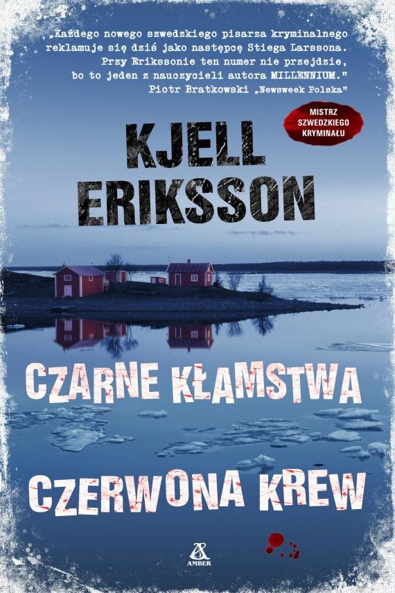 okładka Czarne kłamstwa, czerwona krewebook | EPUB, MOBI | Kjell Eriksson
