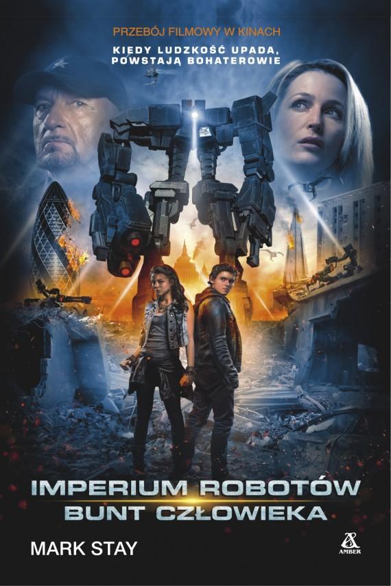 okładka Imperium robotów: Bunt człowiekaebook | EPUB, MOBI | Mark Stay