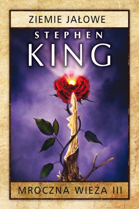 okładka Mroczna Wieża III: Ziemie jałoweebook   EPUB, MOBI   Stephen King