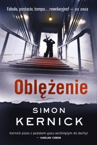 okładka Oblężenie. Ebook | EPUB,MOBI | Simon Kernick