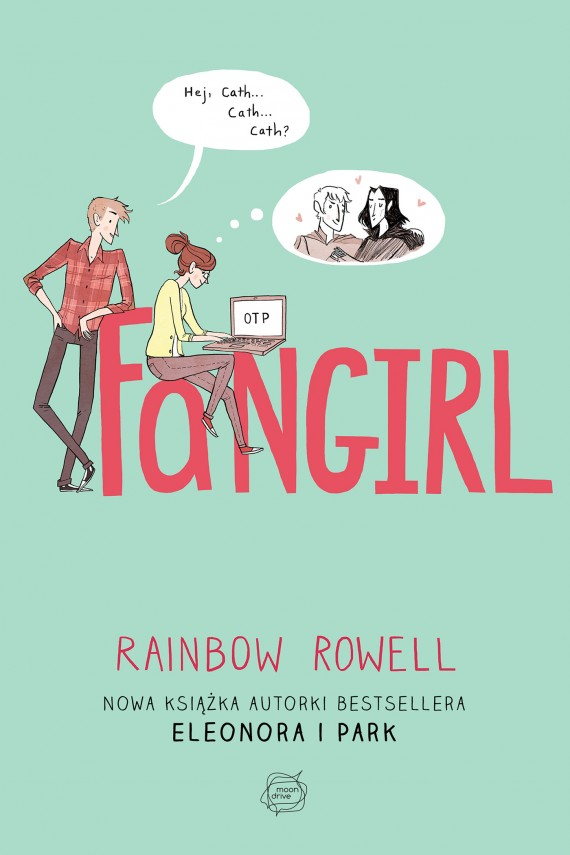 okładka Fangirl. Ebook | EPUB, MOBI | Rainbow Rowell