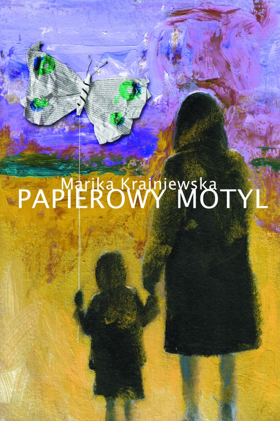 okładka Papierowy motylebook | EPUB, MOBI | Marika Krajniewska