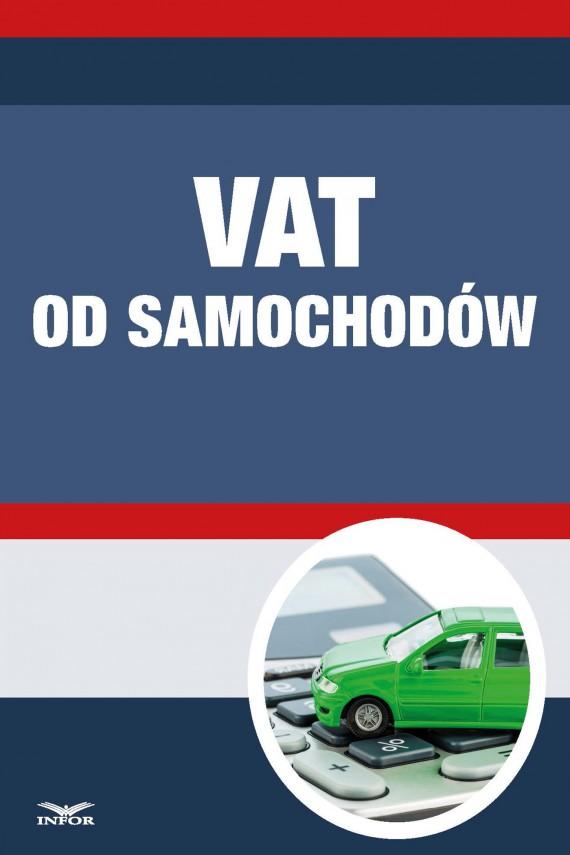 okładka Vat od samochodów. Ebook | PDF | INFOR PL SA