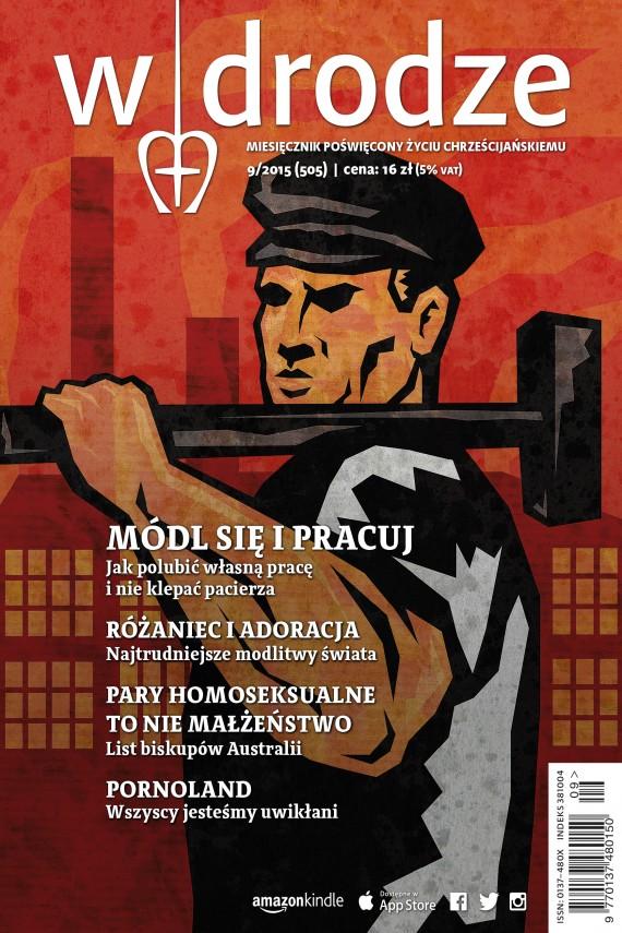 okładka Miesięcznik W drodze nr 9/2015. Ebook | EPUB, MOBI | autor zbiorowy