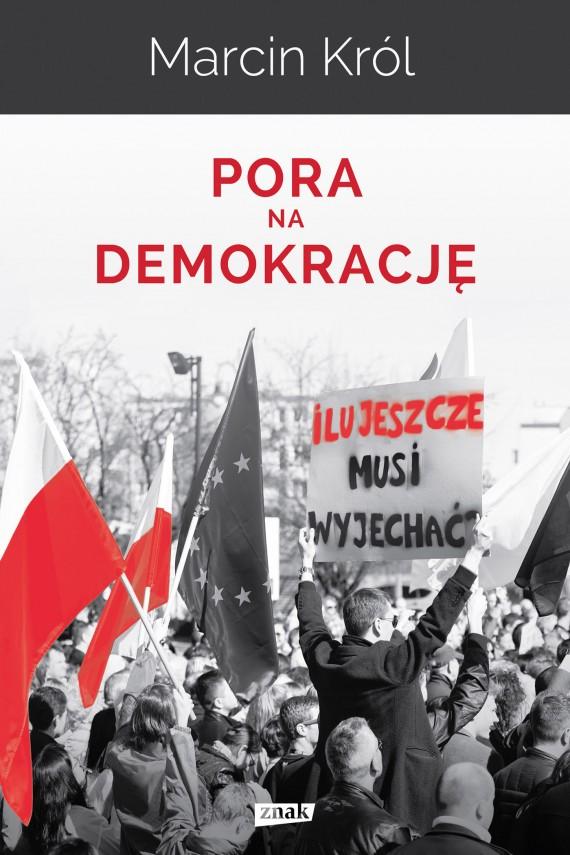 okładka Pora na demokrację. Ebook | EPUB, MOBI | Marcin Król