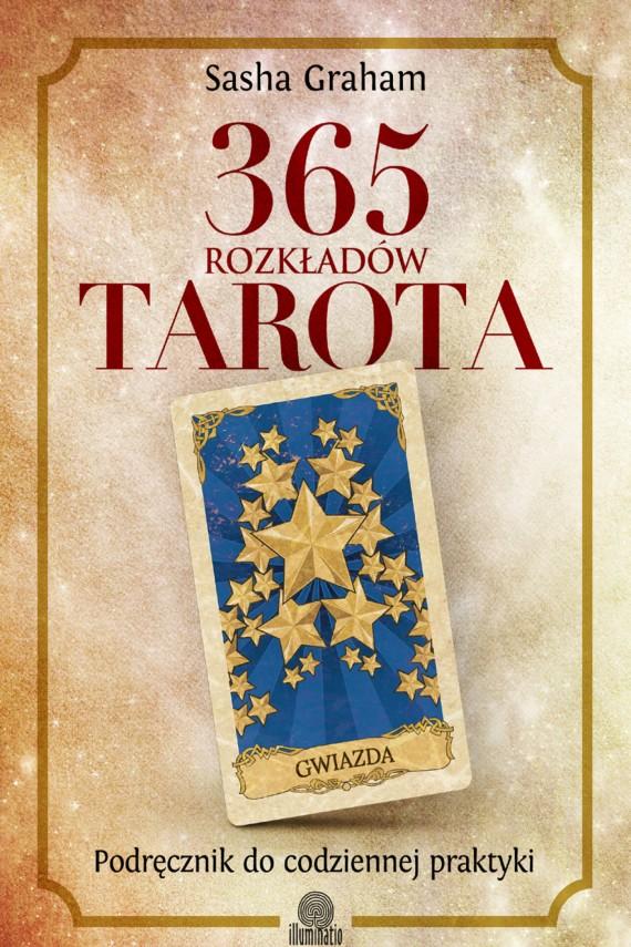okładka 365 rozkładów Tarota. Podręcznik do codziennej praktyki. Ebook | EPUB, MOBI | Sasha Graham