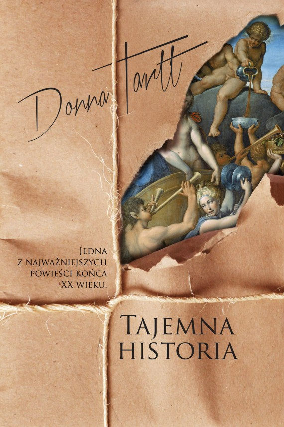 okładka Tajemna historia. Ebook | EPUB, MOBI | Donna Tartt