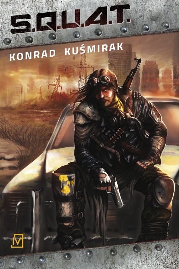 okładka S.Q.U.A.T.. Ebook | EPUB, MOBI | Konrad  Kuśmirak