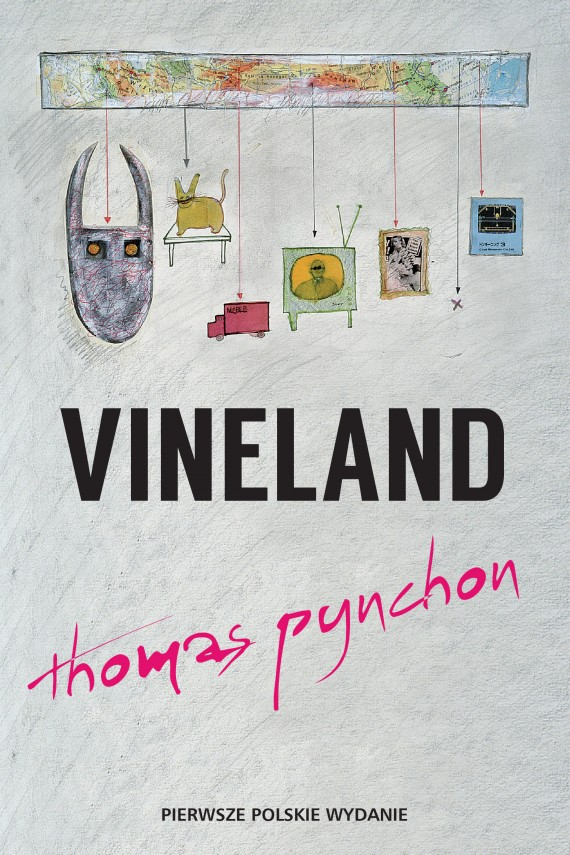 okładka Vineland. Ebook | EPUB, MOBI | Thomas Pynchon