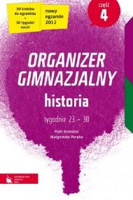 okładka Historia cz. 4. Organizer gimnazjalny. Ebook   EPUB_DRM,MULTI   Piotr Krzesicki, Małgorzata Poręba