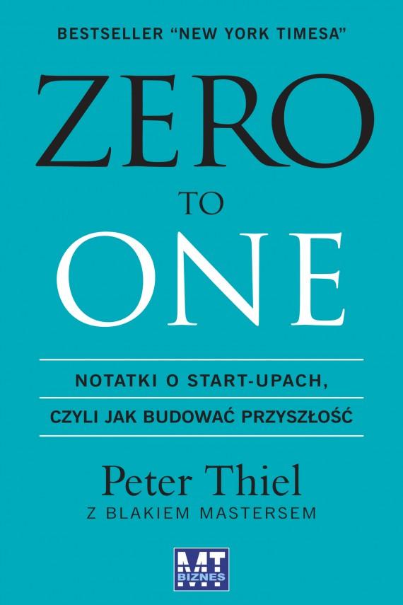 okładka Zero to Oneebook | EPUB, MOBI | Peter   Thiel,, Blake  Masters