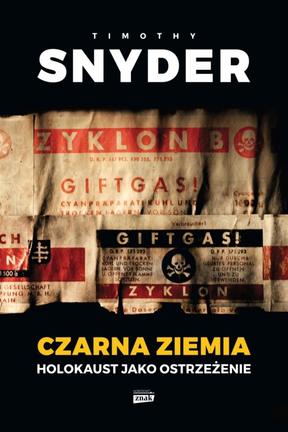 okładka Czarna ziemia. Holokaust jako ostrzeżenie. Ebook | EPUB, MOBI | Timothy Snyder