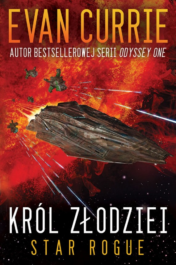 okładka Star Rogue: Król Złodziei (Star Rogue #1). Ebook | EPUB, MOBI | Evan Currie