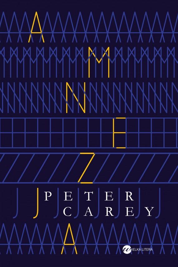 okładka Amnezjaebook | EPUB, MOBI | Peter Carey