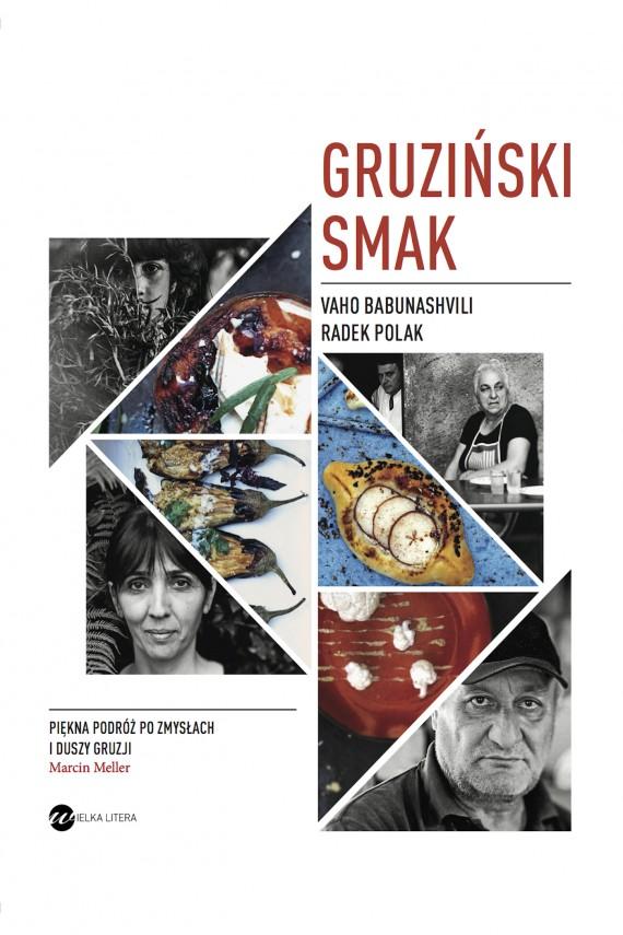 okładka Gruziński smakebook | EPUB, MOBI | Radek Polak, Vaho Babunashvili