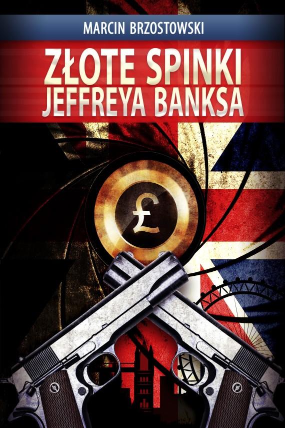 okładka Złote spinki Jeffreya Banksaebook | EPUB, MOBI | Marcin Brzostowski