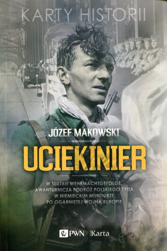 okładka Uciekinier. Ebook | EPUB, MOBI | Józef  Makowski