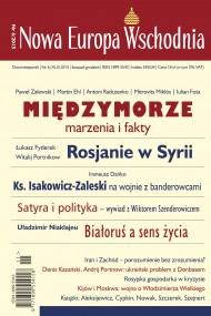 okładka Nowa Europa Wschodnia 6/2015. Ebook | EPUB,MOBI | autor zbiorowy