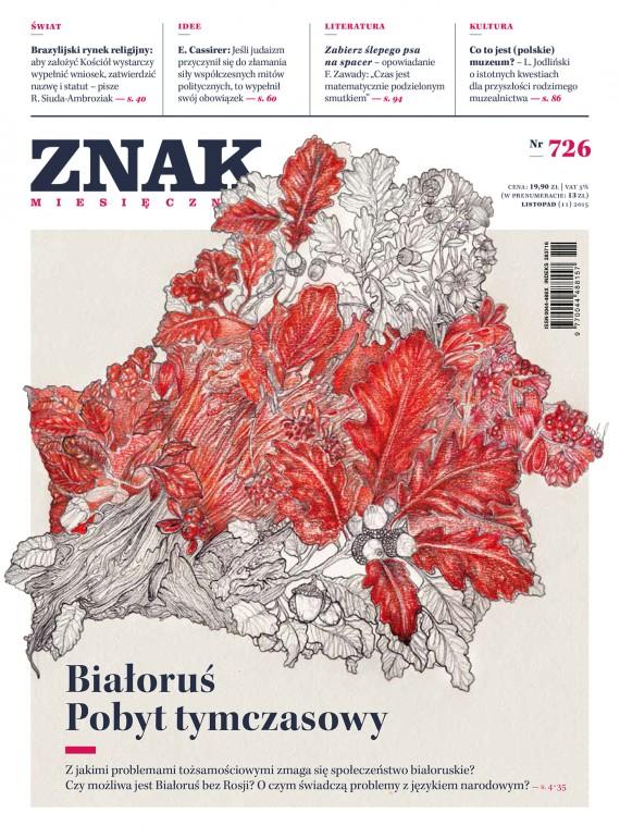 okładka ZNAK Miesięcznik nr 726 (11/2015). Ebook | EPUB, MOBI | autor  zbiorowy