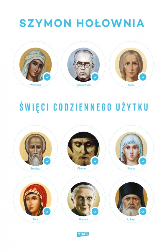okładka Święci codziennego użytku. Ebook | EPUB, MOBI | Szymon Hołownia