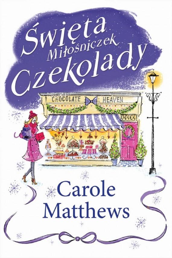 okładka Święta Miłośniczek Czekoladyebook   EPUB, MOBI   Carole Matthews