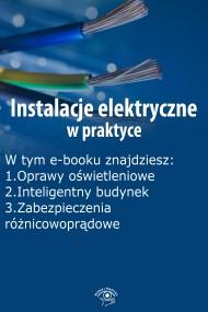okładka Instalacje elektryczne w praktyce, wydanie sierpień-wrzesień 2015 r.. Ebook | EPUB,MOBI | Praca zbiorowa