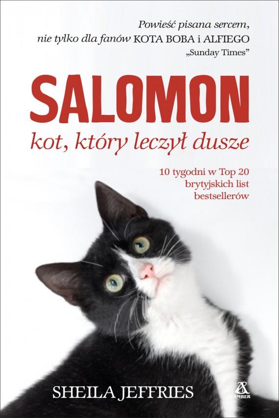 okładka Salomon - kot, który leczył duszeebook | EPUB, MOBI | Sheila Jeffries