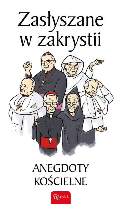 okładka Zasłyszane w zakrystiiebook   EPUB, MOBI   Janusz Michałowski