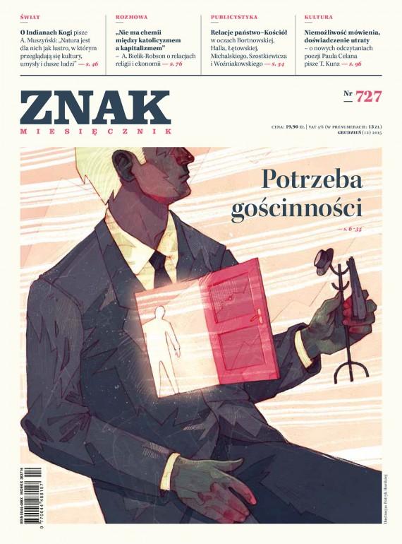 okładka ZNAK Miesięcznik nr 727 (12/2015). Ebook | EPUB, MOBI | autor  zbiorowy