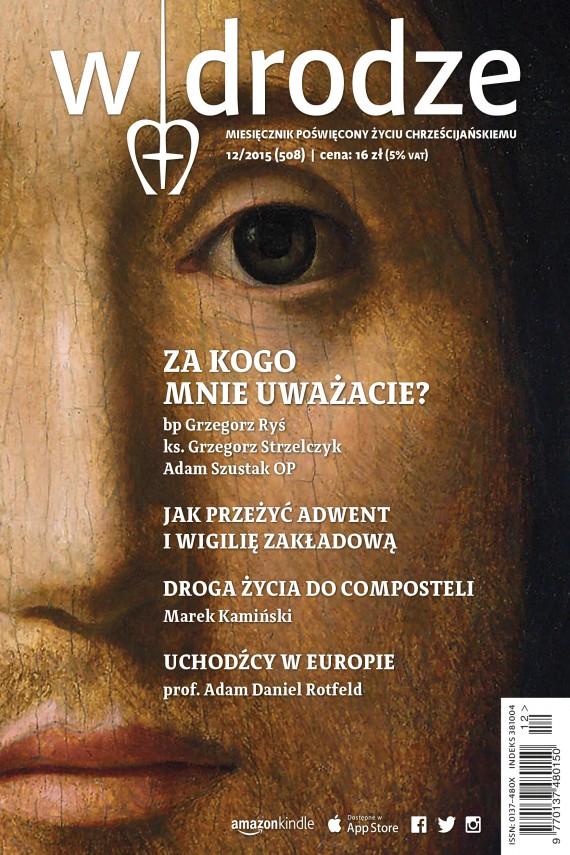 okładka Miesięcznik W drodze nr 12/2015ebook | EPUB, MOBI | autor zbiorowy