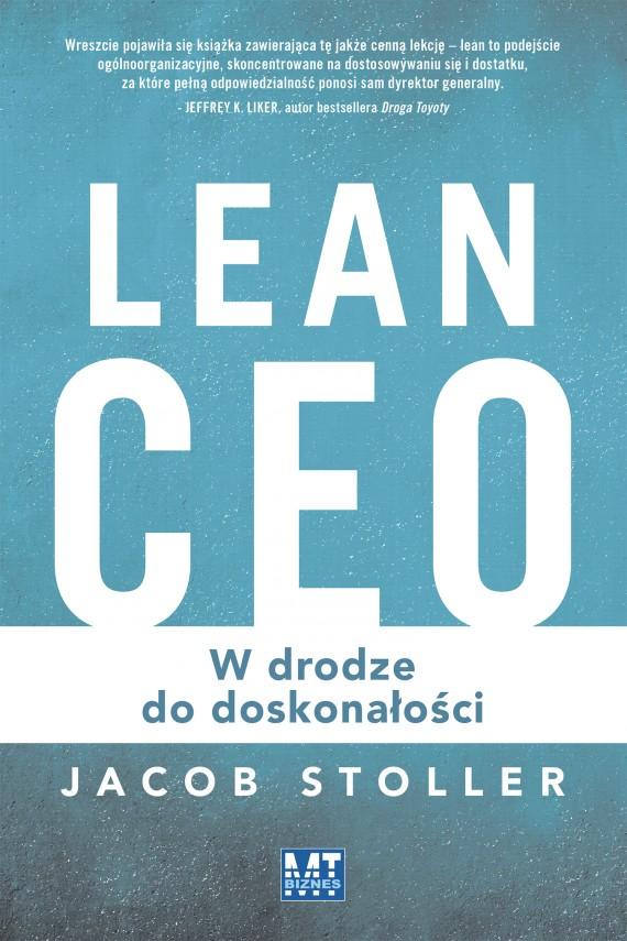okładka Lean CEO. Ebook | EPUB, MOBI | Jacob  Stoller