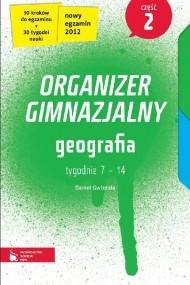 okładka Geografia cz. 2. Organizer gimnazjalny. Ebook   EPUB_DRM,MULTI   Daniel Gwizdała