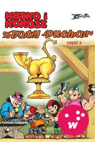 okładka Kajko i Kokosz. Złoty puchar cz. 2. Ebook | EPUB_DRM,MULTI | Janusz Christa