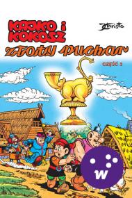 okładka Kajko i Kokosz. Złoty puchar cz. 3. Ebook | EPUB_DRM,MULTI | Janusz Christa