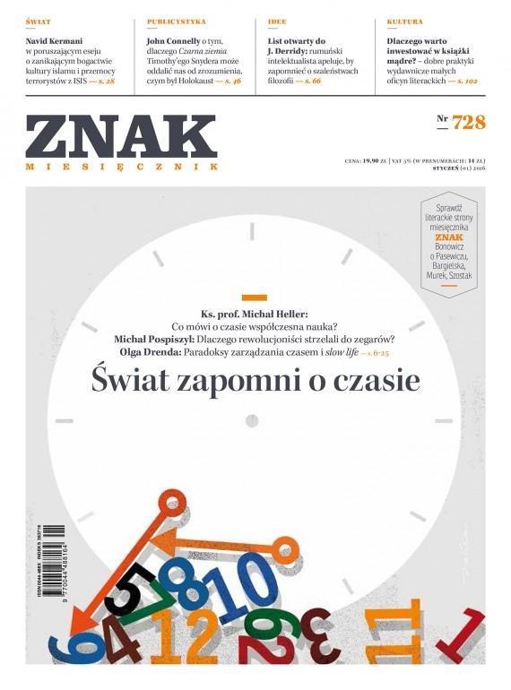 okładka ZNAK Miesięcznik nr 728 (1/2016)ebook | EPUB, MOBI | autor  zbiorowy