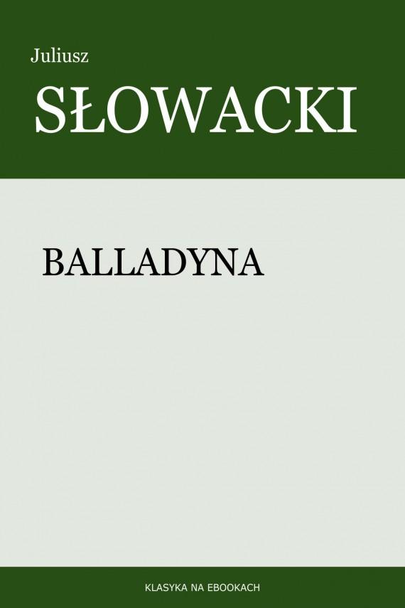 okładka Balladynaebook | EPUB, MOBI | Juliusz Słowacki