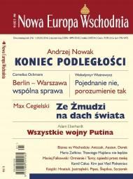 okładka Nowa Europa Wschodnia 1/2016. Ebook | EPUB,MOBI | autor zbiorowy