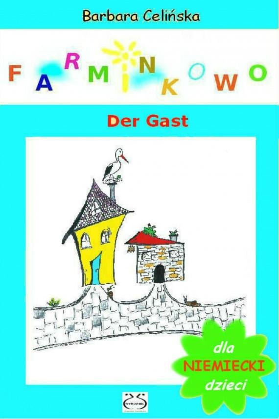 okładka Niemiecki dla dzieci. Farminkowo - Der Gastebook | PDF | Barbara Celińska