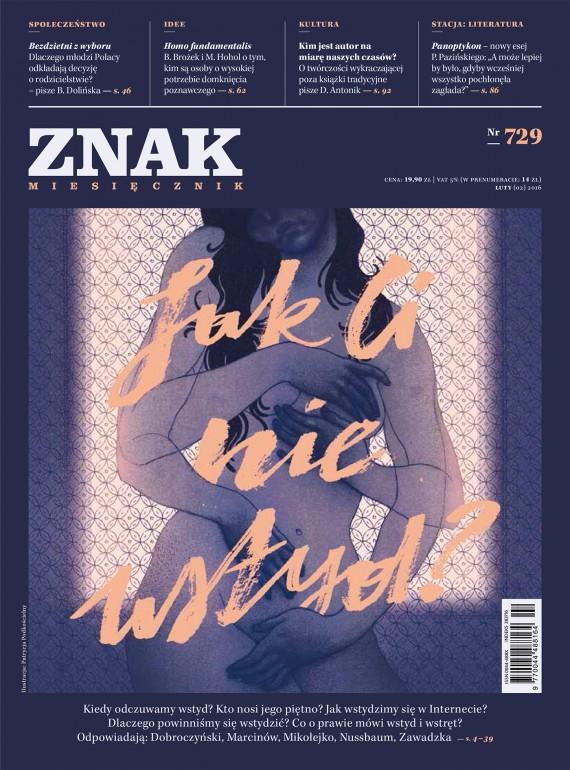 okładka ZNAK Miesięcznik nr 729 (2/2016)ebook | EPUB, MOBI | autor  zbiorowy