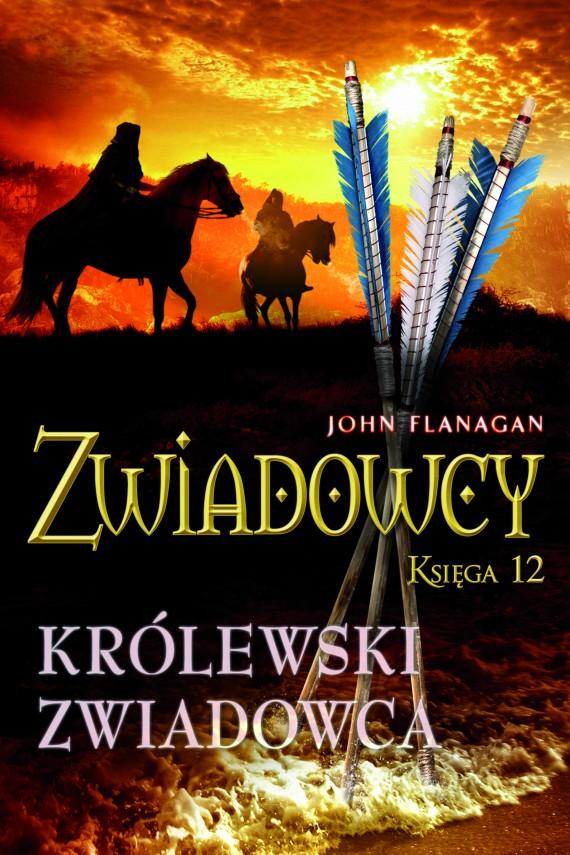 okładka Zwiadowcy 12. Królewski zwiadowcaebook   EPUB, MOBI   John Flanagan