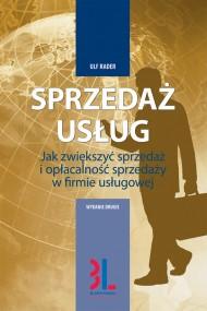 okładka Sprzedaż usług, Ebook | Ulf Rader