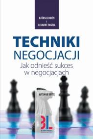 okładka Techniki negocjacji, Ebook | Björn Lundén, Lennart Rosell