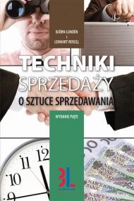 okładka Techniki sprzedaży, Ebook | Lennart Rosell