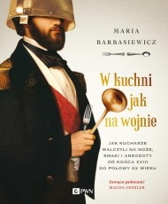 okładka W kuchni jak na wojnie. Ebook   EPUB,MOBI   Maria  Barbasiewicz